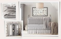Next baby!!! Not any time soon though!   Rooms | Restoration Hardware Baby & Child