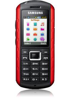 2005 : le#SamsungSolid B2100 est le téléphone robuste de la marque. Il résiste aux chocs, au sable, à la poussière et à l'eau !