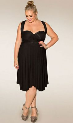 SWAK Designs Eternity Convertible Dress. I love how versatile it is. I can dress it up for a night out, or wear it dressed down. Definitely worth the money.