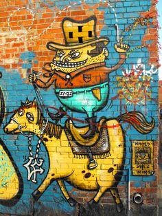 Fitzroy Laneways Street Art