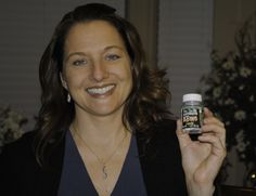 Jody Becker April 2014 Holding a bottle of anti-aging pills on her birthday.  My favorite pic of her so far!