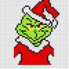 cross stich grinch free | cross stitch winter