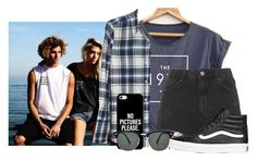 """""""Looking for a Jay anon or fc is there any out there? -Alexis"""" by woah-1975 ❤ liked on Polyvore featuring beauty, Nili Lotan, Topshop, Vans, Casetify and Ray-Ban"""