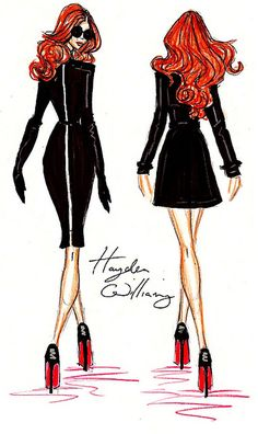 'Throwin on my Louboutins' - By Hayden Williams