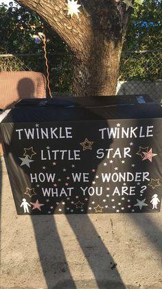 Twinkle little star gender reveal