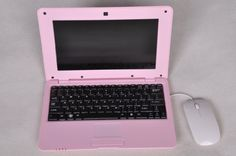 "Goldengulf 10"" inch Mini LAPTOP Netbook Android Computer Notebook Wifi 3G Camera (pink) Goldengulf http://www.amazon.com/dp/B00F8QW58G/ref=cm_sw_r_pi_dp_EkO6tb0E5H9BS"