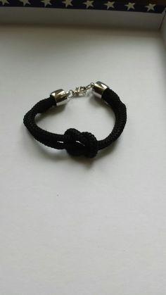 Bracelet noeud en corde (ma création )