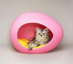 Cama-huevo para mascotas Pei Pod