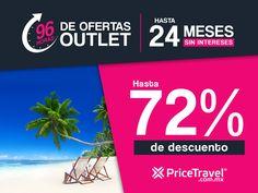 ¡Hoy inicia el outlet de viajes 2017! - http://revista.pricetravel.com.mx/promociones/2017/05/11/outlet-de-viajes-2017/