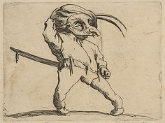 L'Homme Masqué aux Jambes Torses (The Masked Man with Crooked Legs) - 1616–22