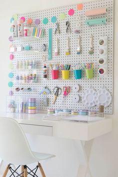 Craft Organization DIY - 40 Art Room and Craft Room Organization Decor Ideas . - Craft Organization DIY – 40 Art Room and Craft Room Organization Decor Ideas … -
