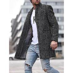 Shop veste longue et chaude à texture élégante online with high quality and hurry to get fashion on nikiluwa.com quickly.