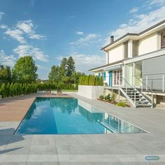 Designed to relaxation... :-) #lifestyle #design #health #summer #relaxation #architecture #pooldesign #gardendesign #pool #swimmingpool #niveko #nivekopools by nivekopools Creative backyard pool designs.