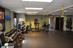 TRX supports. Core Center of Real Energy Personal Training Studio