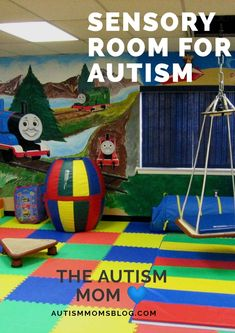 Sensory Room For Your Autistic Child ⋆ The Autism Mom Sensory Room Autism, Diy Sensory Toys, Sensory Wall, Sensory Tools, Autism Activities, Autism Resources, Autism Classroom, Motor Activities, Autism