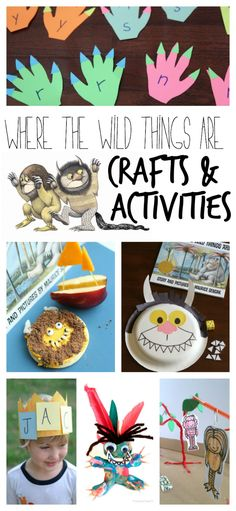 This collection of Where the Wild Things Are Crafts and Activities has something for everyone...alphabet activities, cooking ideas, sensory fun, and more!