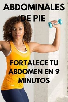 FOOT ABDOMINALS to strengthen your abdomen in 9 minutes Veronica Villa Ejercicios 9 Standing abdominal exercises you should try … Gym Workout Videos, Gym Workouts, Standing Abdominal Exercises, Fitness Inspiration, Skinny Mom, Yoga Fitness, Pilates, Trx, Health