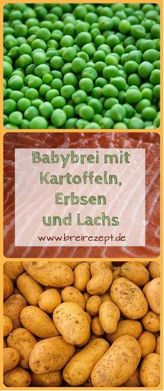 Babybrei mit Kartoffeln, Lachs und Erbsen empfehle ich euch für das Baby ab dem 8.Monat, da Hülsenfrüchte vorher blähend wirken können. Fisch im Babybrei wird übrigens bereits ab Beikosteinführung empfohlen und ist eine tolle Alternative zu Babybrei mit Fleisch. Hier geht es zum Beikost-Rezept: http://www.breirezept.de/rezept_kartoffel-erbsen-brei_mit_lachs.html