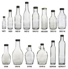 Specialty Bottle - Sauce Glass Bottles at most $2.24 each