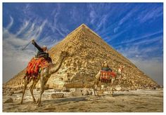 The Great Pyramid of Giza - Cairo and Nile Cruise http://www.maydoumtravel.com/Egypt-Travel-and-Tour-Packages/4/0/