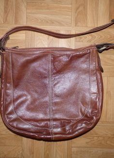 sac cuir marron cognac - Sac A Main Color