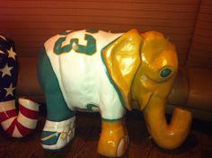University of South Florida elephant.