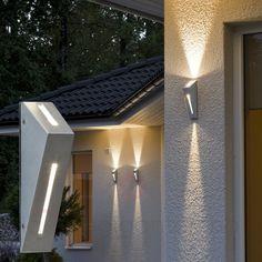 Enkel utendørs NEW IMOLA 2 LED-vegglampe 5522394