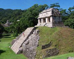 Palenque Maya Ruins- located 400 miles from the Riviera Maya