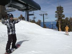 Top of our ski vacation! On top of Heavenly mountain resort  www.arctivity.com