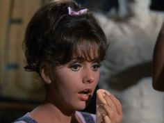 """Mary Ann sees a """"mummy"""" but it's Gilligan, of course Mary Ann And Ginger, Giligans Island, Tina Louise, 60s Hair, Old Shows, Classic Tv, Hottest Photos, Beautiful Actresses, Childhood Memories"""
