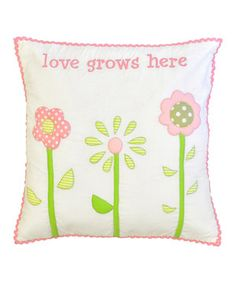 Our nursery pillows come in a variety of colors & styles to coordinate with your baby's room decor! Perfect for your nursery glider our fun nursery throw pillows are made in the USA. Baby Girl Bedding, Girl Nursery, Baby Room Decor, Nursery Decor, Nursery Ideas, Baby Pillows, Throw Pillows, Bedding Collections, Pink And Green