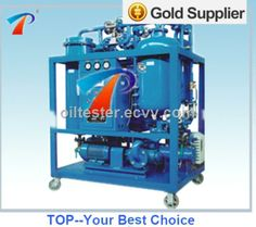 High cleaness no pollution of turbine oil recovery system,breaking emulsification thoroughly - China oil purifier