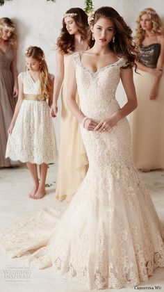 sareh nouri fall 2016 bridal beautiful mermaid wedding dress off the shoulder thick lace strap embroidered lace throughout with chapel train style jannan back view