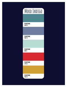 Mood Indigo Color Palette