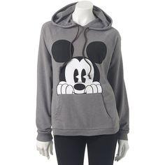 Disney Mickey Mouse Hoodie Juniors - Polyvore