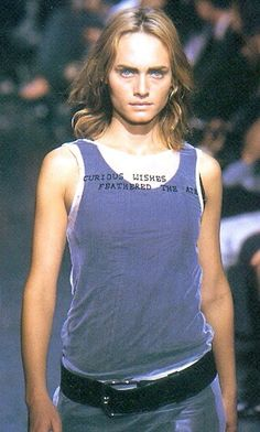 Ann Demeulemeester Spring/Summer 2000 |Amber Valletta