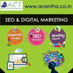 """""""SEO & Digital marketing"""" is the new trend of internet marketing and in the same way Anantha CyberTech offer best services for digital marketing & SEO, http://www.anantha.co.in/seo-and-digital-marketing-services"""