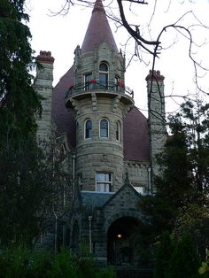 Craigdarroch Castle, Victoria, Got lost walking from here back to our room Victoria Canada, Victoria British Columbia, Beautiful Castles, Beautiful Places, Oh The Places You'll Go, Places To Travel, Victoria Vancouver Island, Palace, Famous Castles