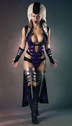 Sindel - Mortal Kombat cosplay http://cheapps4console.com/