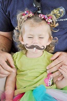 'stach on a pop #party #mustache