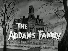 Always loved the show... and secretly wished I had a big Gothic house like theirs
