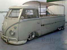 VW Single Volkswagen Transporter, Volkswagen Bus, Vw T1, Vw Camper, Campers, Kombi Pick Up, Combi Split, Combi Wv, Vw Cars