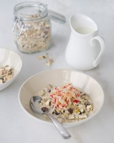 "Apple Muesli - My favourite meal since starting the 12WBT. The new ""COCOPOPS"" for me!"