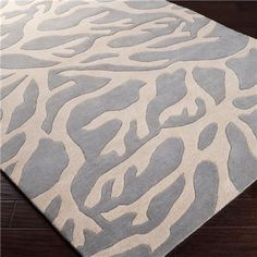 Coral Hand Tufted Rug: 4 Colors ETA 6/12
