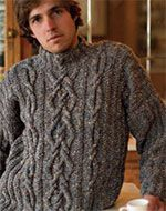 Free Mens Cable Knit Sweater Patterns : Knit Mens sweaters on Pinterest Drops Design, Men Sweater and Free Kni...