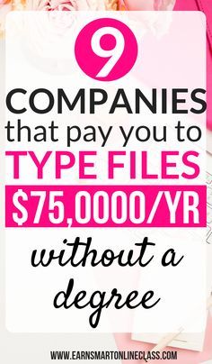 Looking for companies that pay beginners to type from home? Here's a list of 9 transcription companies that will pay you to type files from the comfort of your home and make money online. You don't need a degree to work as a transcriptionist. Click here to find out how you can make up to $75,000 per year. #transcriptionjobsfromhome #transcriptionjobs #workfromhome #makemoneyonline #sidehustle #trancriptionjobsforbeginners