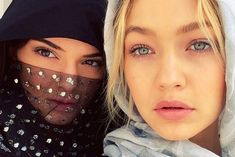 Kendall Jenner and Gigi Hadid cover up as they pay visit to the mosque, while critics blast the selfie - 3am & Mirror Online