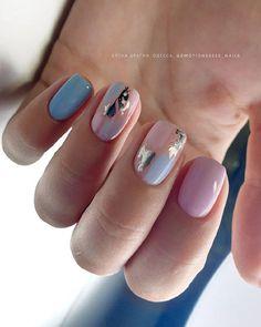 Gelish Nail Colours, Gelish Nails, My Nails, Chic Nails, Trendy Nails, Simple Gel Nails, Nails Only, Nail Tattoo, Rose Nails