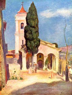Pierre Auguste Renoir - Church at Cagnes