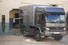 Allradmobil Mercedes Benz Atego in Tunesien | Impressionen der Reise | Exploryx Expeditionsfahrzeuge